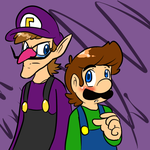 Luigi and Waluigi by MariobrosYaoiFan12
