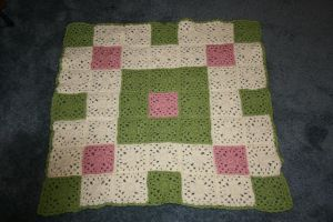 Celtic Square Baby Blanket by LeChatGris1987