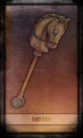 Madness Returns Tarot :: Hobby Horse by Vanyanie