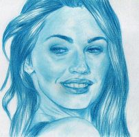Megan Fox by Panzarina