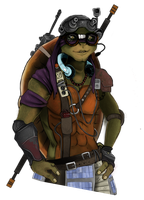 TMNT Donnie by Arllo