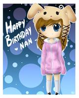 Happy Birthday Nan by KiwiKuma