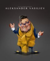 Aleksander Vasiliev by creaturedesign