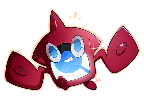 Shiny Rotomdex by mako--eyes