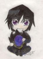 Chibi Lelouch: color by mdnght1