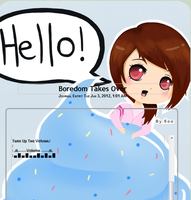 Hello Cupcake Journal Skin: NEW CSS by 6oo