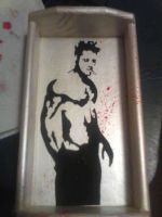 Tyler Durden Rolling Station by MoobyWoo