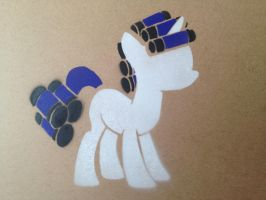 Rarity With Curlers Stencil by SCARFI5H