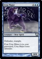 MLP_FiM_MTG - Ursa Major by pegasusBrohoof