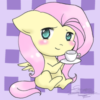 A Spot of Tea... Maybe? by Midnameowfries