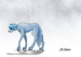 2D - All Alone - Coyote by GorillazRaven