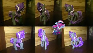 Nightmare Rarity custom by angel99percent
