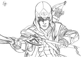 Assassin's Creed 3 by Barbeanicolas