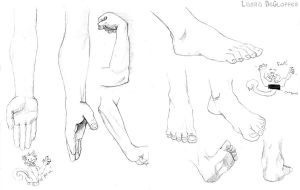 Hands and Feet by Kenu