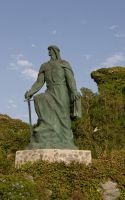 Statue 7 by archaeopteryx-stocks