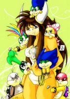 Phoebe and all Koopalings by Sonadow-95