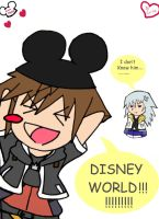 disney world sora by Animequeen111