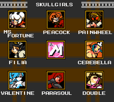 Skullgirls Stage Select by MedleyAssault