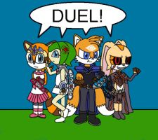 Sonic Duelists by kimmy1235