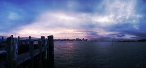 Week 6: Auckland Harbour by StoneE608