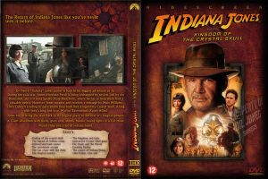 Indiana Jones KOTCS Dvd Cover by marty-mclfy