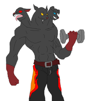 Cerberus Workout by Metal-Kitty