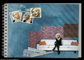 Christina Aguilera by clouded-eyes