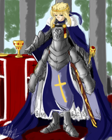 FSN: Royal Saber by PeterPrime