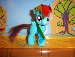 Little Filly Rainbow Dash by GoEatCheesecake