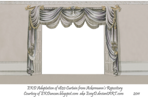 1820 EKD Regency Curtain Room 4 by EveyD