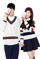 Bobby and Suhyun PNG by Yourlonglostsister