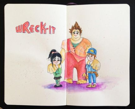 wreck it by dropeverythingnow