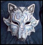 Ice Wolf Mask by Namingway
