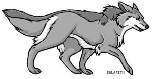 Grey Wolf Thing by solarith