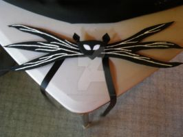 Jack Skellington Bat Bow Tie by xdeathbybananax