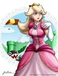 Princess Peach Perils by Furboz