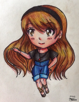 Chibi Character by Artistic-Ana