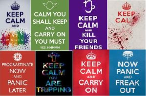 Keep Calm Collection by XGhostStreak