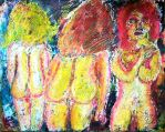 3 Nude Females by TB8S