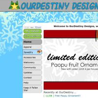 Winter Theme!! by OurDestinyDesigns