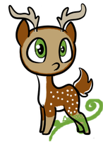 Deer adopt by Lyd2000