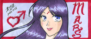 Bookmark Rei Head by kuroitenshi13