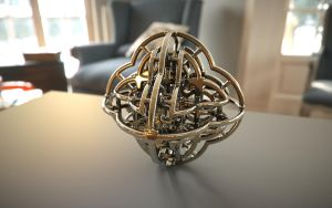 Fractal 3D Printed Model by nic022