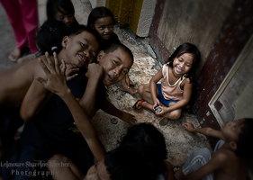 Street Photography 101 Smiles by lee-sutil