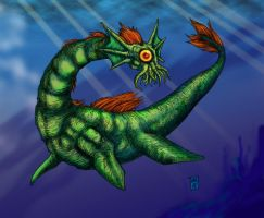 Crypt001F Nessie by hawanja