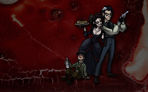 Sweeney Todd Desktop by Bilious