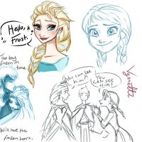 Frozen and Frost by Vynndetta
