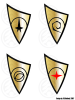USS Concorde Original Badges by Phaeton99