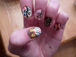 fall nails (#1) by Day-Dreamer-29