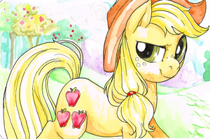 Applejack by Fyre-Flies